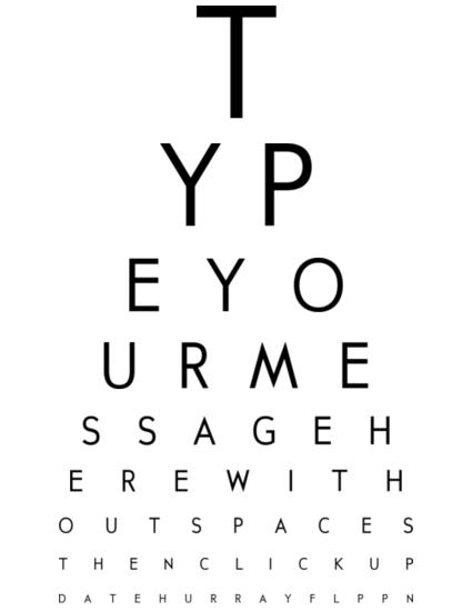 free eye chart maker